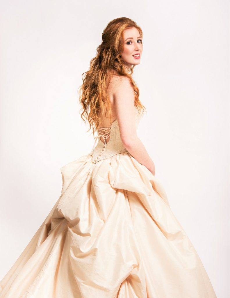 Be the Belle of the ball on your wedding day in this beautiful fantasy gown donated by Hollywood Brides