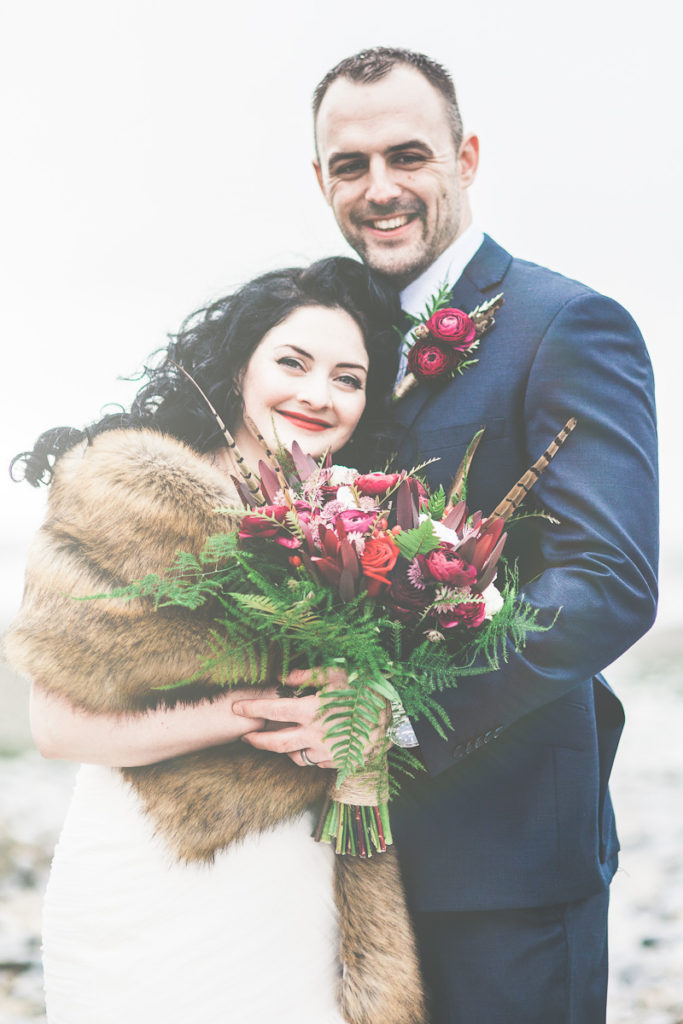 Vintage Inspired Winter Wedding