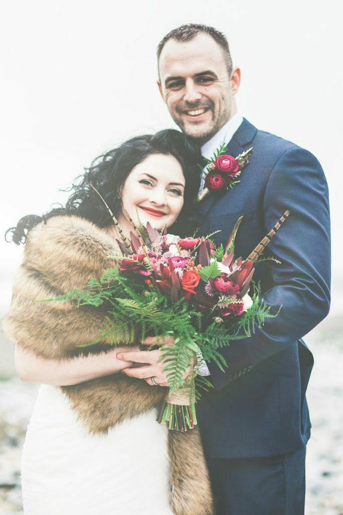 Vintage Inspired Winter Wedding