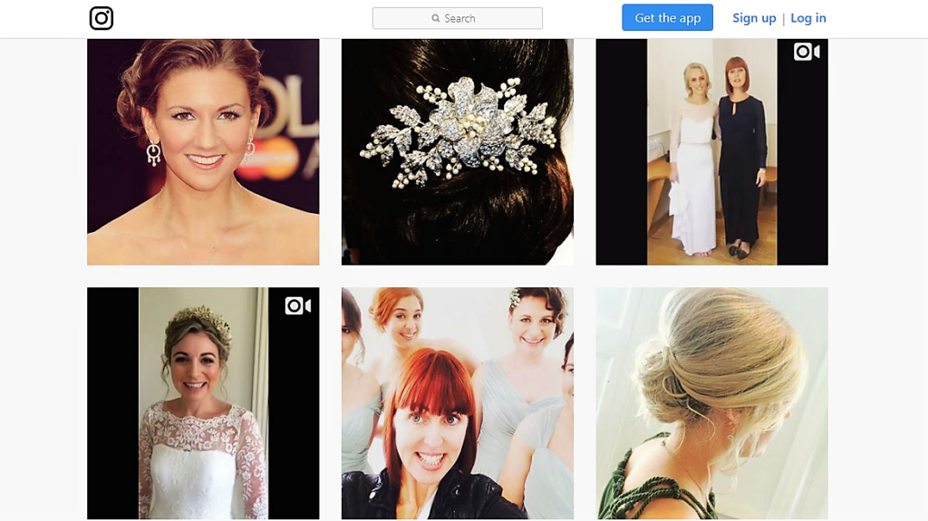 Vicki Lord Wedding Hair Instagram