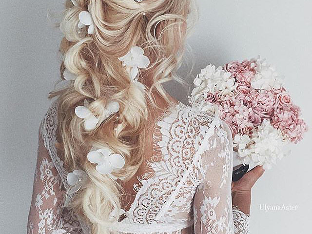 Ulyana Aster Instagram Wedding Hair Star