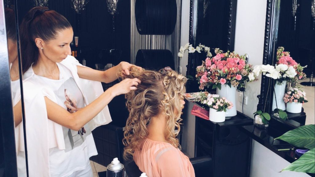 Instagram Wedding Hair All Star Ulyana Aster