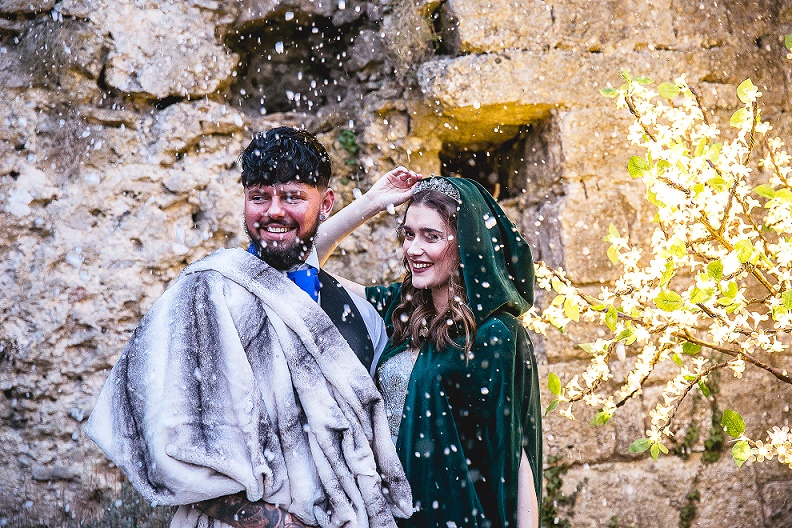 Game of Thrones Inspired Winter Wedding